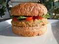 Quick and Easy Gluten Free Falafel Burgers